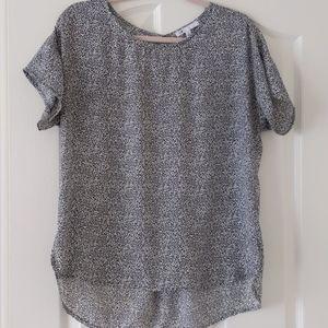 DR2 cheetah print blouse